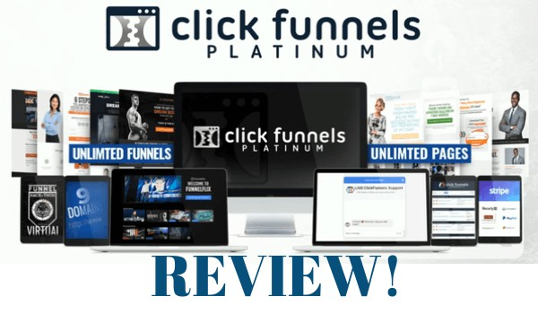 image that represents click funnel platinum