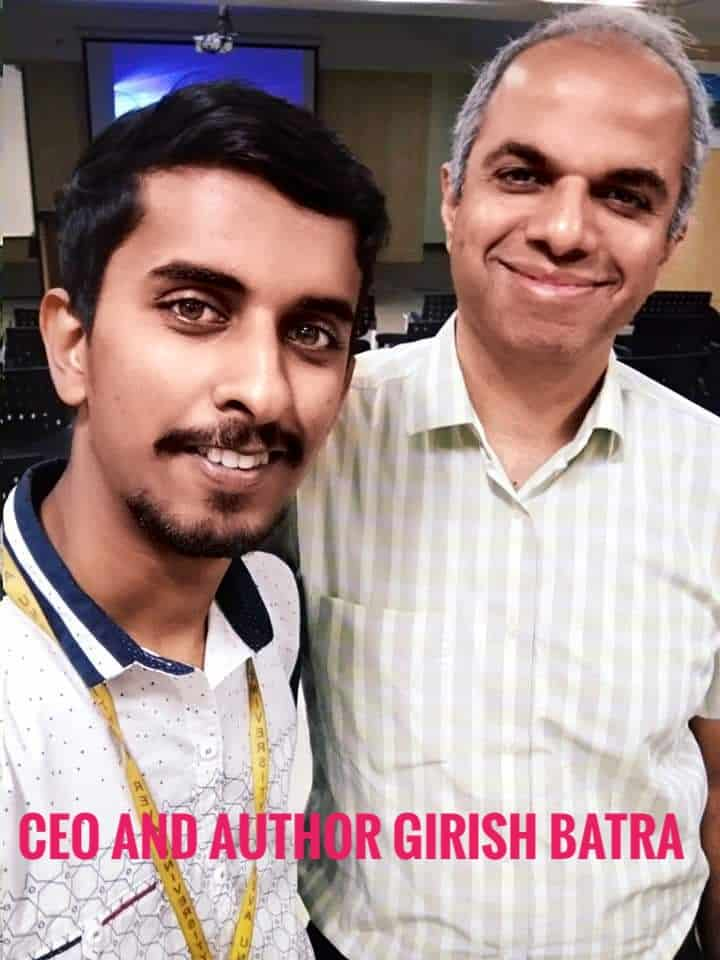 image of akshay rajsheakaran with girish batra