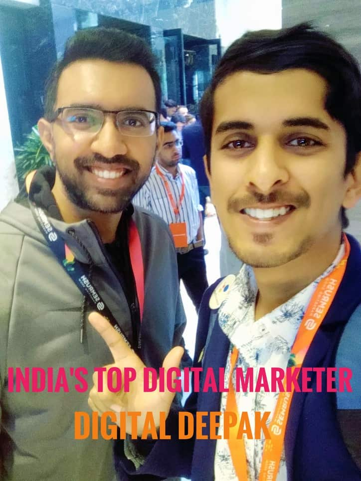 image of akshay rajsheakaran with digital deepak