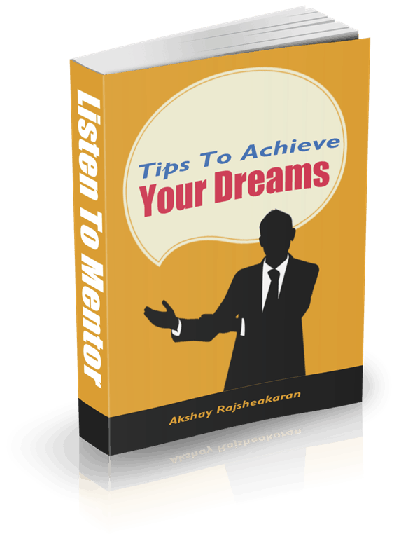 eBook cover for achieve your goals eBook