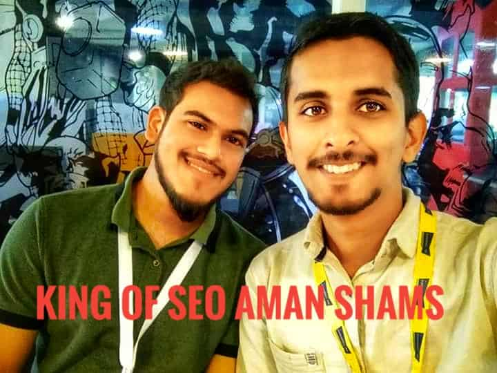 image of akshay rajsheakaran with aman shams